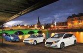 Nissan Leaf vs Renault Zoe vs Volkswagen e-Golf