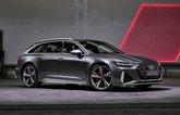 Audi RS6 Avant front static