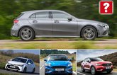 Mercedes A-Class, Toyota Corolla, Ford Focus, Volvo XC40