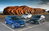New Mazda 3 & Skoda Scala vs Kia Ceed