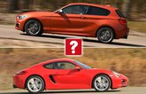 BMW M135i vs Porsche Cayman