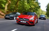 2019 Mercedes CLA vs Audi A5 Sportback vs Jaguar XE