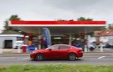 Mazda 6 long-term review petrol station