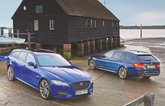 Used test: BMW 5 Series Touring vs Jaguar XF Sportbrake
