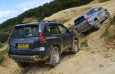 Mistubishi Shogun Sport vs Toyota Land Cruiser