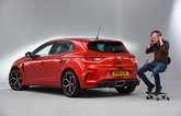 LT Renault Megane RS - listening to exhaust