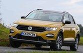 Volkswagen T-Roc front three quarters