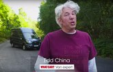 Edd China with Ford Transit