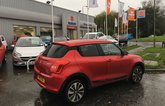 Used Suzuki Swift long term dealership visit