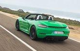 2020 Porsche 718 Boxster GTS rear driving shot
