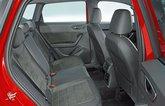 Cupra Ateca rear seats