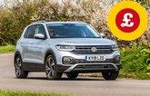 Volkswagen T-Cross with Target Price logo