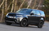 Land Rover Discovery cornering front three quarters