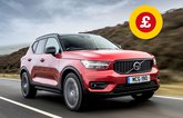 Volvo XC40 with Target Price logo