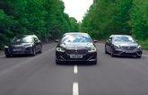 BMW 7 Series triple test