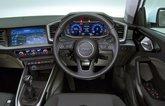 Audi A1 dashboard - white 19-plate car