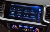Audi A1 infotainment system - white 19-plate car