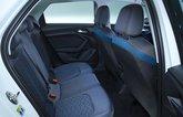 Audi A1 rear seats - white 19-plate car
