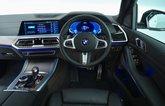 BMW X5 45e dashboard - 69-plate car