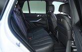BMW X5 45e rear seats - 69-plate car