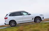 BMW X5 45e side panning - 69-plate car