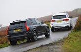 BMW X5 45e vs Volvo XC90 T8 - rears