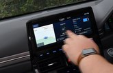 Hyundai Ioniq Electric infotainment touchscreen