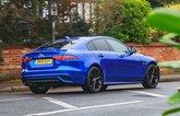 LT Jaguar XE rear cornering