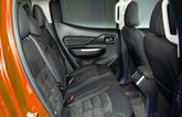 Mitsubishi L200 rear seats - 69 plate