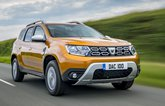 Dacia Duster 2021 RHD front right tracking
