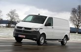 VW e-Crafter driving