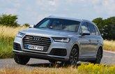 Audi Q7 front cornering - 67-plate car