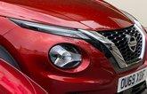 Nissan Juke long-term front end close up