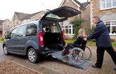 Most common motability car adaptations - wheelchair ramp