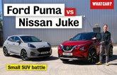 Ford Puma vs Nissan Juke video review
