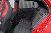 2020 Volkswagen Golf GTI rear seats