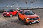 Suzuki Vitara and Volkswagen T-Cross