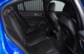 Alfa Romeo Giulia Quadrifoglio 2020 rear seats