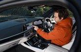 BMW X7 Neil Winn playing with iDrive system