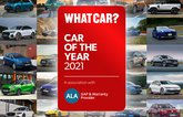 What Car? Car of the Year 2021 Long List compilation image