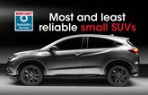 Most and least reliable small SUVs