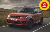 Range Rover Sport with Target Price logo