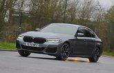 BMW 5 Series 2021 front left cornering