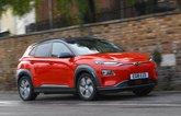 Hyundai Kona Electric 18 plate front corner
