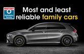 Most and least reliable family cars