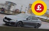 BMW 5 Series with Target Price logo