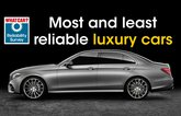 Most and least reliable luxury cars