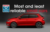 most and least reliable small cars