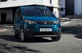 2021 Peugeot e-Rifter front