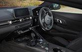 Toyota GR Supra 2021 dashboard